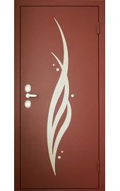 Аппликация на стальной двери