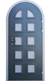металлическая дверь арка