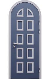 входная дверь в дом арочная