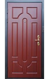 Махагон вариант отделки для железной двери
