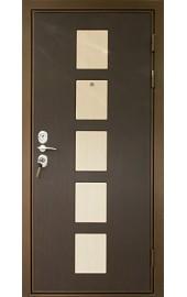 Коричневая дверь фото