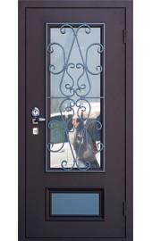 Входные двери со стеклопакетом