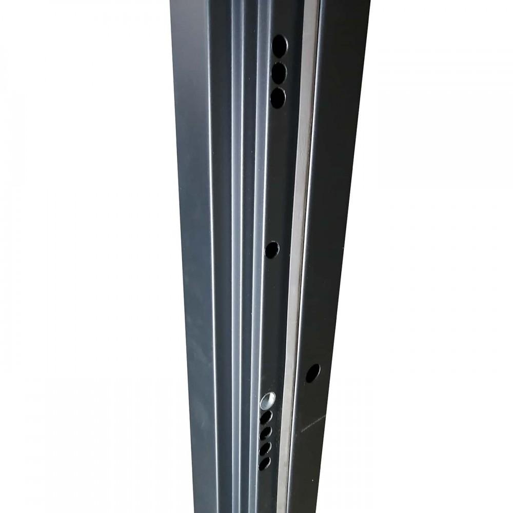 М-3-8 угольный металлик / дуб санремо