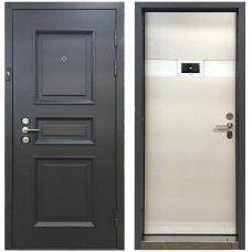 Дверь металлическая с видеодомофоном М-3