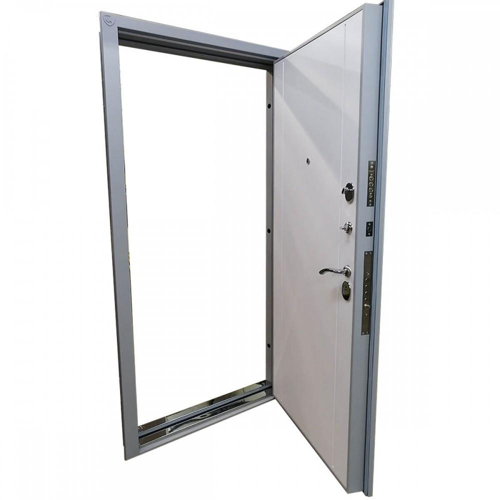 Входная дверь M-20-100 металлик 2004 / серый сандал