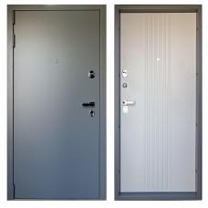 Входная дверь М-20-80 серый мрамор / LS капучино