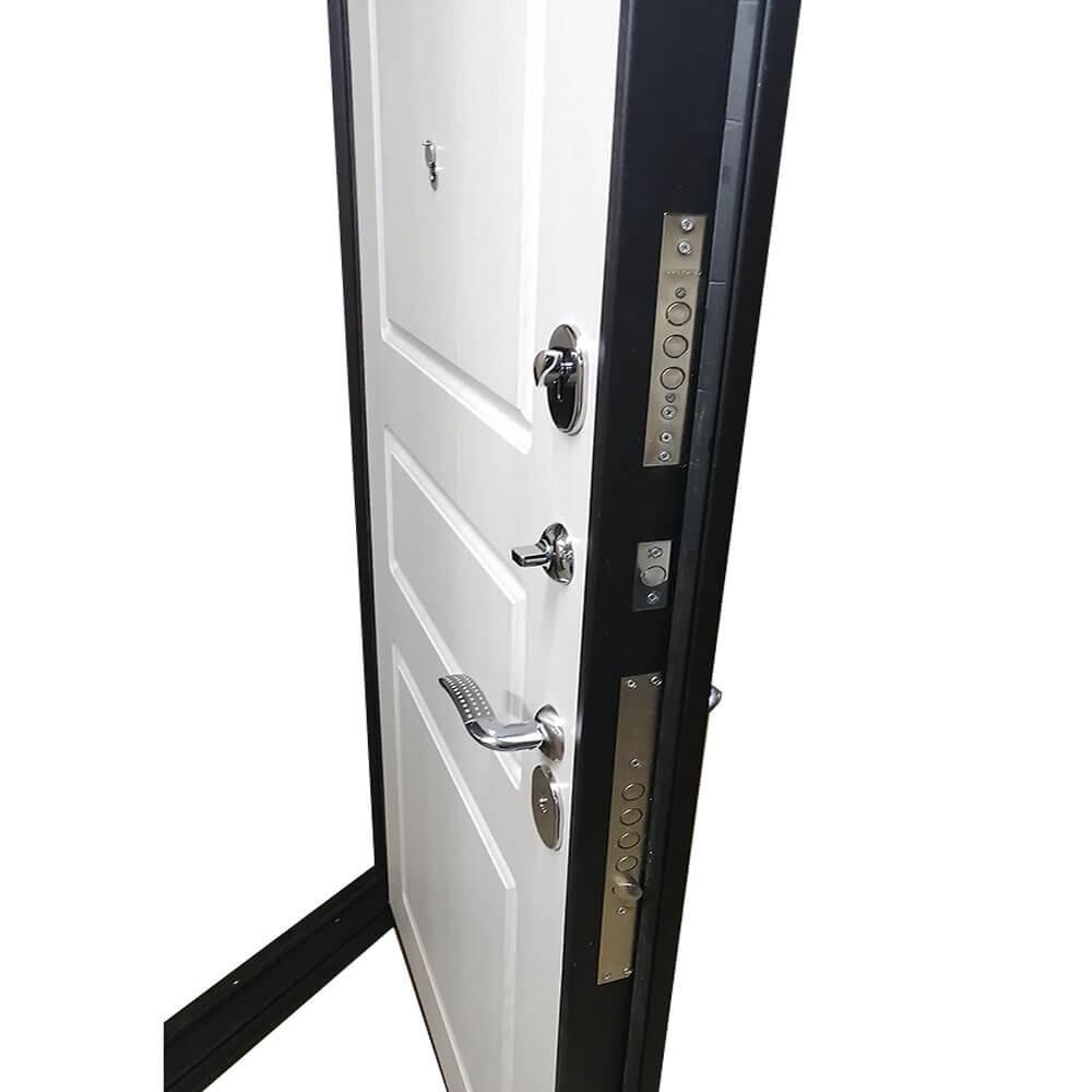 Входная дверь М-20-90 венге-1 / ива белая