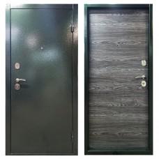 Входная дверь М-8 антик тёмно-зелёный