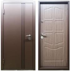 Входная дверь М-8 медный металлик / ZB темный
