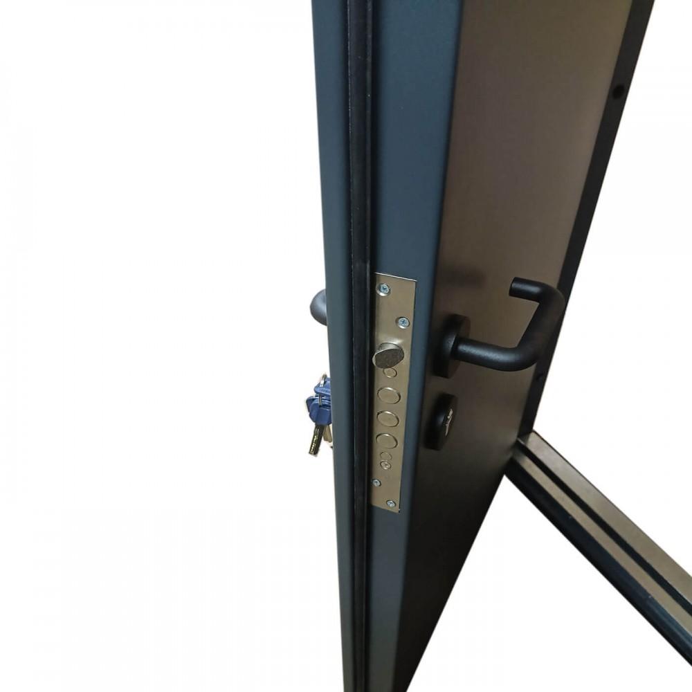 Дверь противопожарная полуторка муар 7016