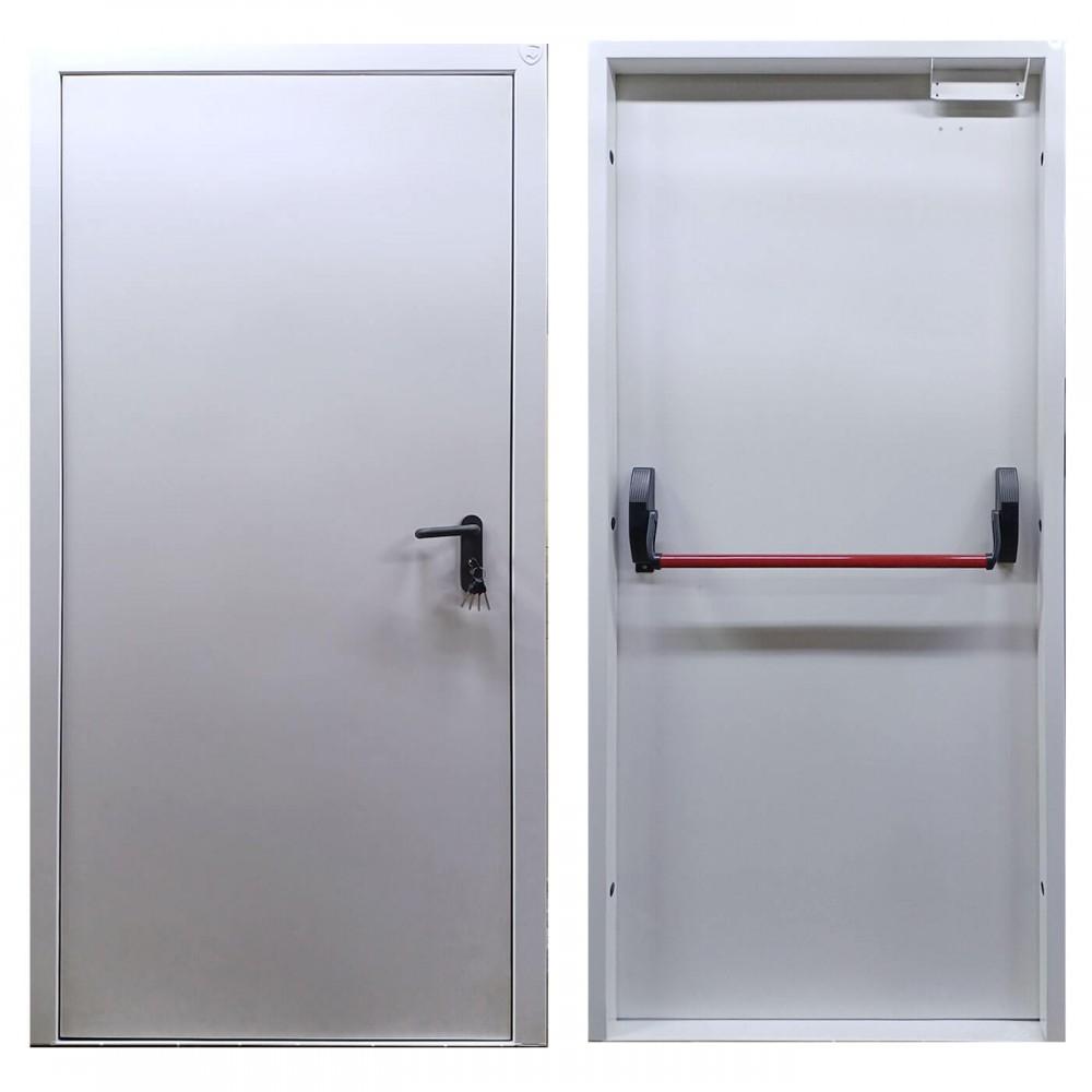 Противопожарная дверь одностворчатая с антипаникой
