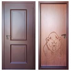 Дверь с терморазрывом М-15-100 филенка