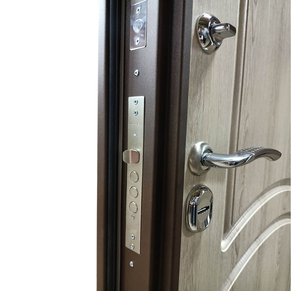 Дверь с терморазрывом М-15-100 дуб контерберри